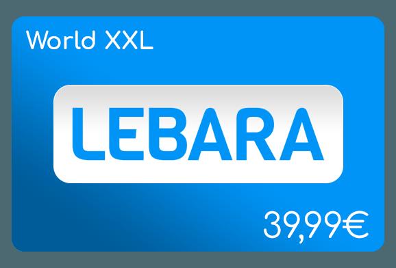 lebara world xxl flat aufladen online