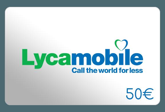 lycamobile 50 euro aufladen online