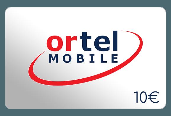 ortel mobile 10 euro aufladen online